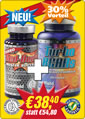 Zum Red Devil Sporternährung Produkt <STRONG>Monatsangebot 1: 1 Dose TURBO Red Devil + 1 Dose TURBO BCAAs</STRONG>