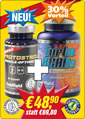 Zum Red Devil Produkt <STRONG>Monatsangebot 2: 1 Dose TURBO&nbsp;Protostrol &nbsp;+ 1 Dose TURBO BCAAs</STRONG>