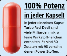 RED DEVIL Potenz Kapsel