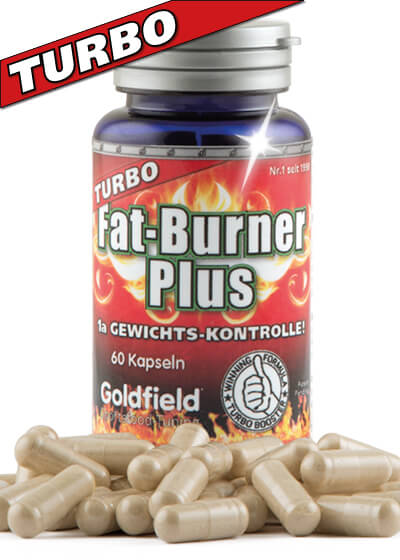 Turbo Fat-Burner Plus - Fettverbrennung, 60 Kapseln
